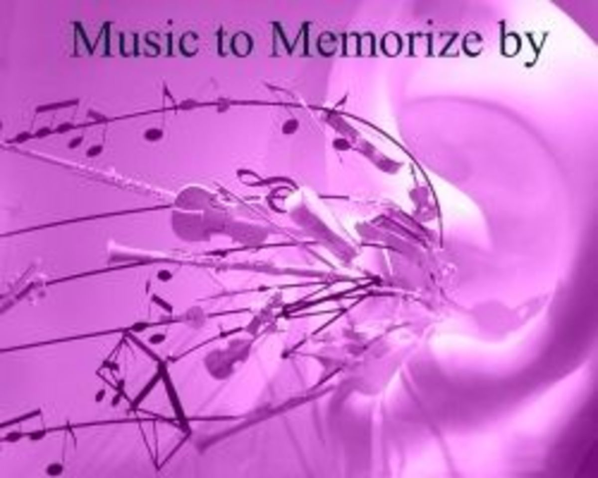 Memorizing Techniques Using Music