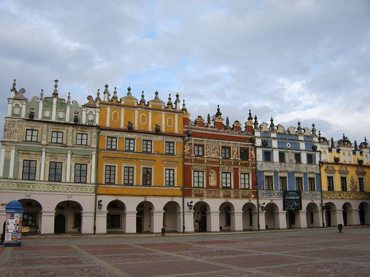 Zamosc, Poland. Photos courtesy of Wikipedia.