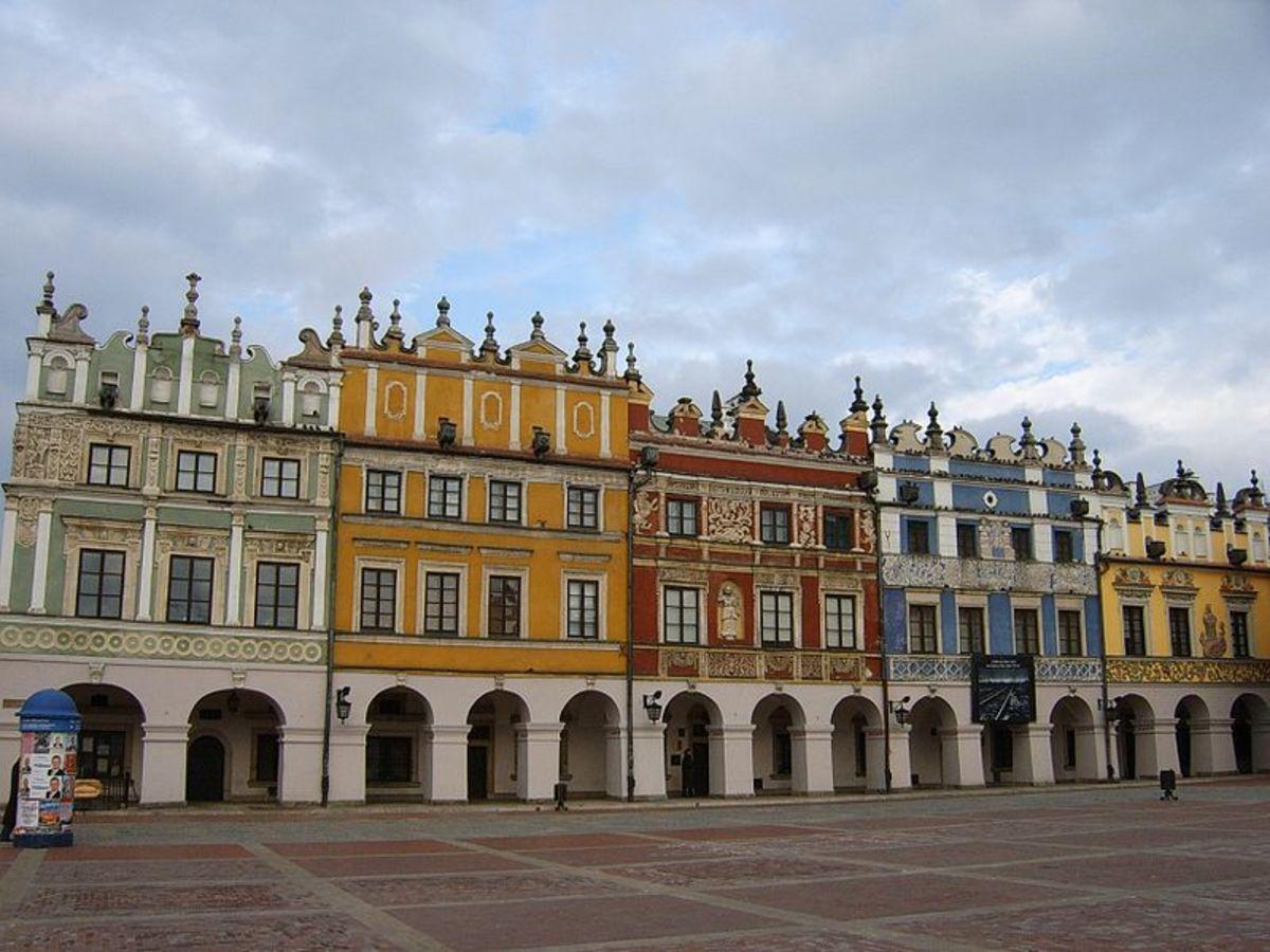 Zamosc, Poland. Photos courtesy of Wikipedia.