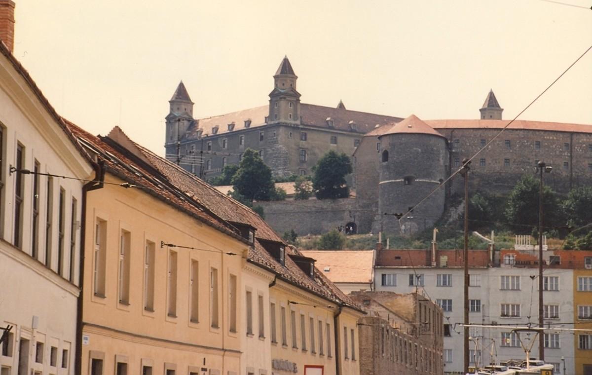 Bratislava Castle. Bratislava, Slovakia.