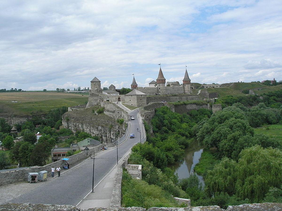 Kamianets-Podilskyi, Ukraine. Photo courtesy of Wikipedia.