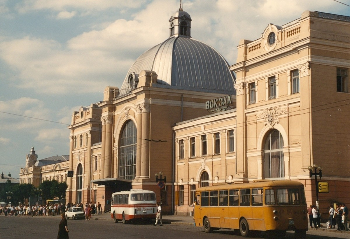 Train station. Ivano-Frankivsk, Ukraine.