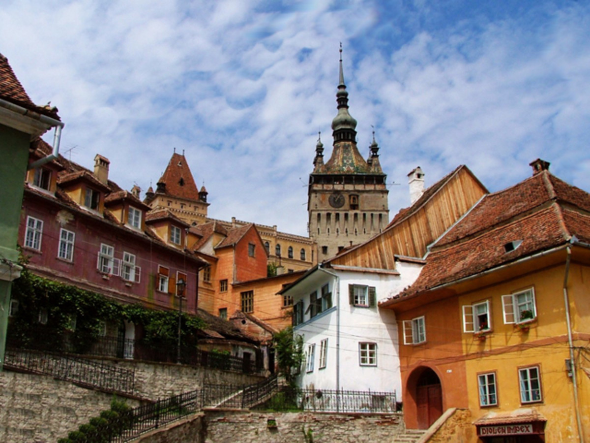 Sighisoara, Romania. Photo courtesy of Wikipedia.