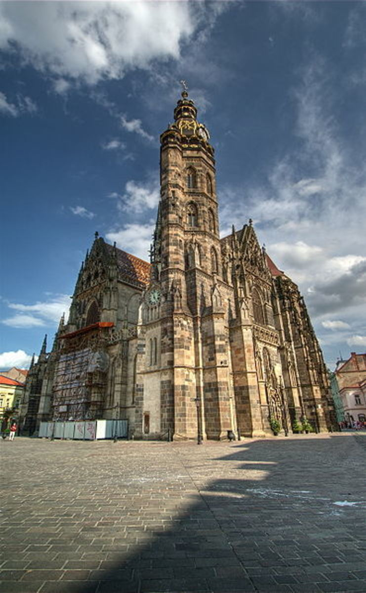 St. Elizabeth's, Kosice, Slovakia. Photo courtesy of Wikipedia.