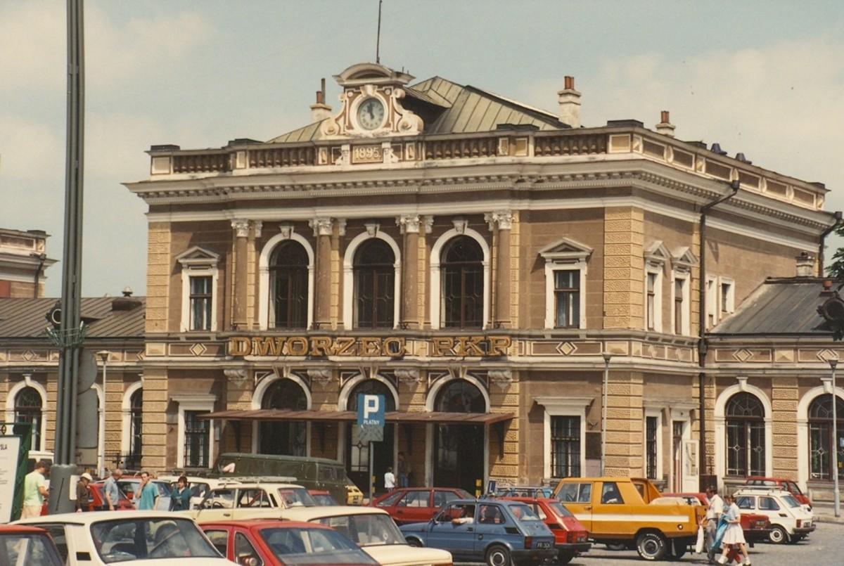 Przemysl, Poland. Train station.