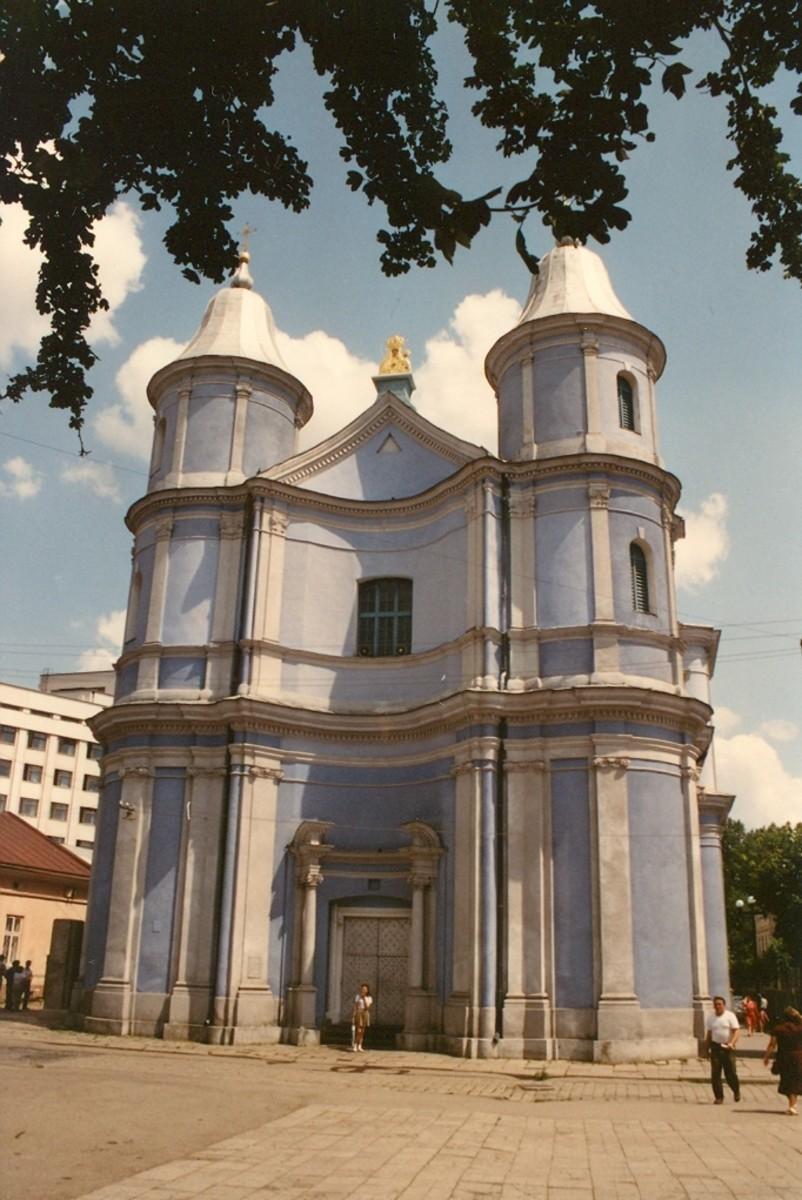 Armenian Church, Ivano-Frankivsk, Ukraine.