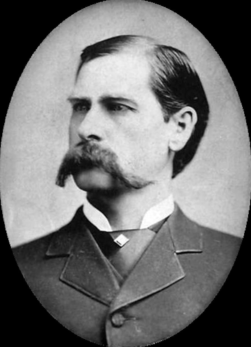 Wyatt Earp at age 33.