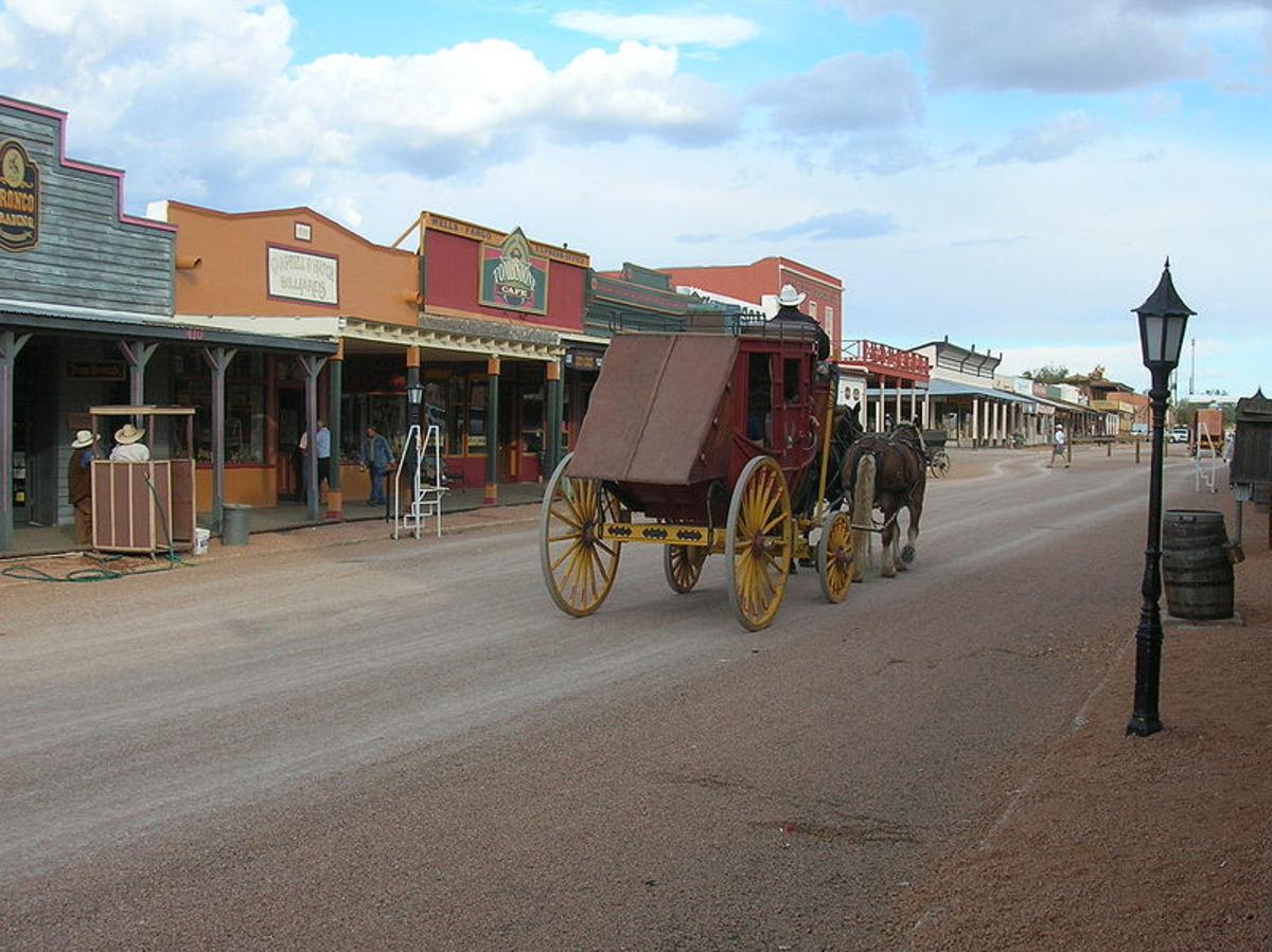 Allen Street In Tombstone Arizona Today