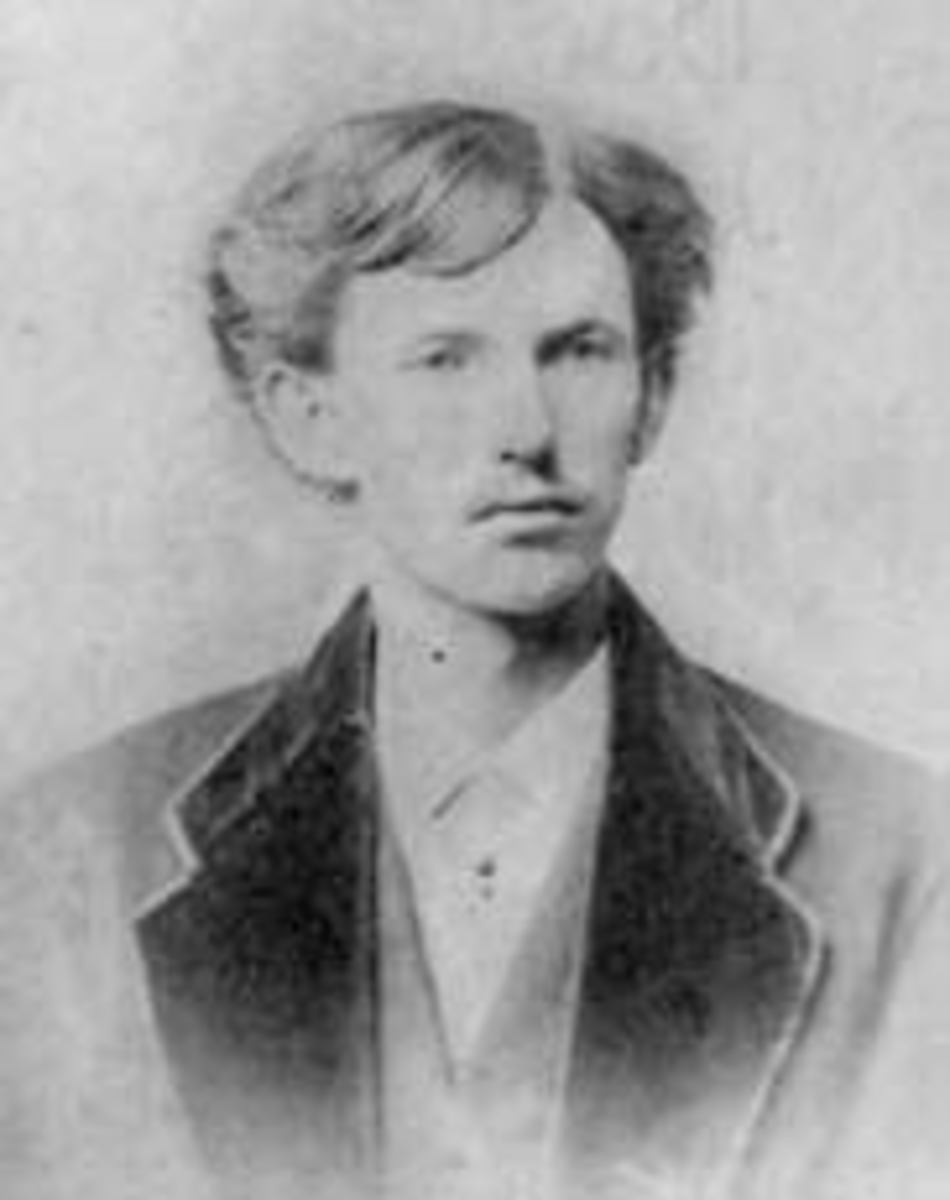 This is Dr. John Henry Holliday's Philadelphia School of Dental Surgery 1872 graduation photo, so it is certainly the man. He is here aged 20 years, 5 months.