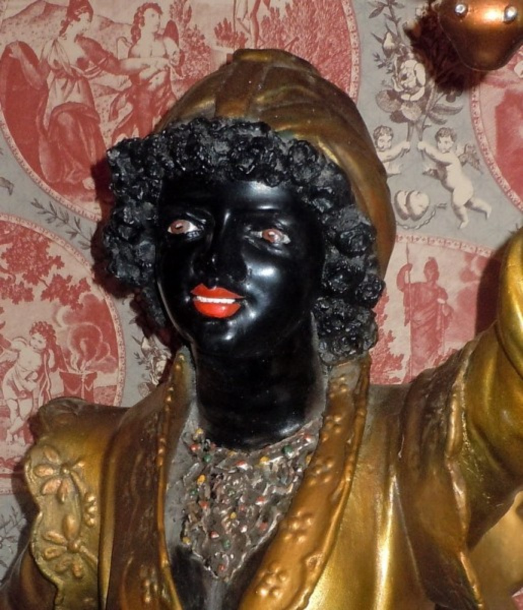 Blackamoor Jewel Elizabeth 1 Gift to Drake – Public Domain Did race discrimination by colour begin in England with Elizabeth I's use of 'blackamoores' as prisoner exchange currency after the failed Spanish Armada? The presence of Africans in early mo