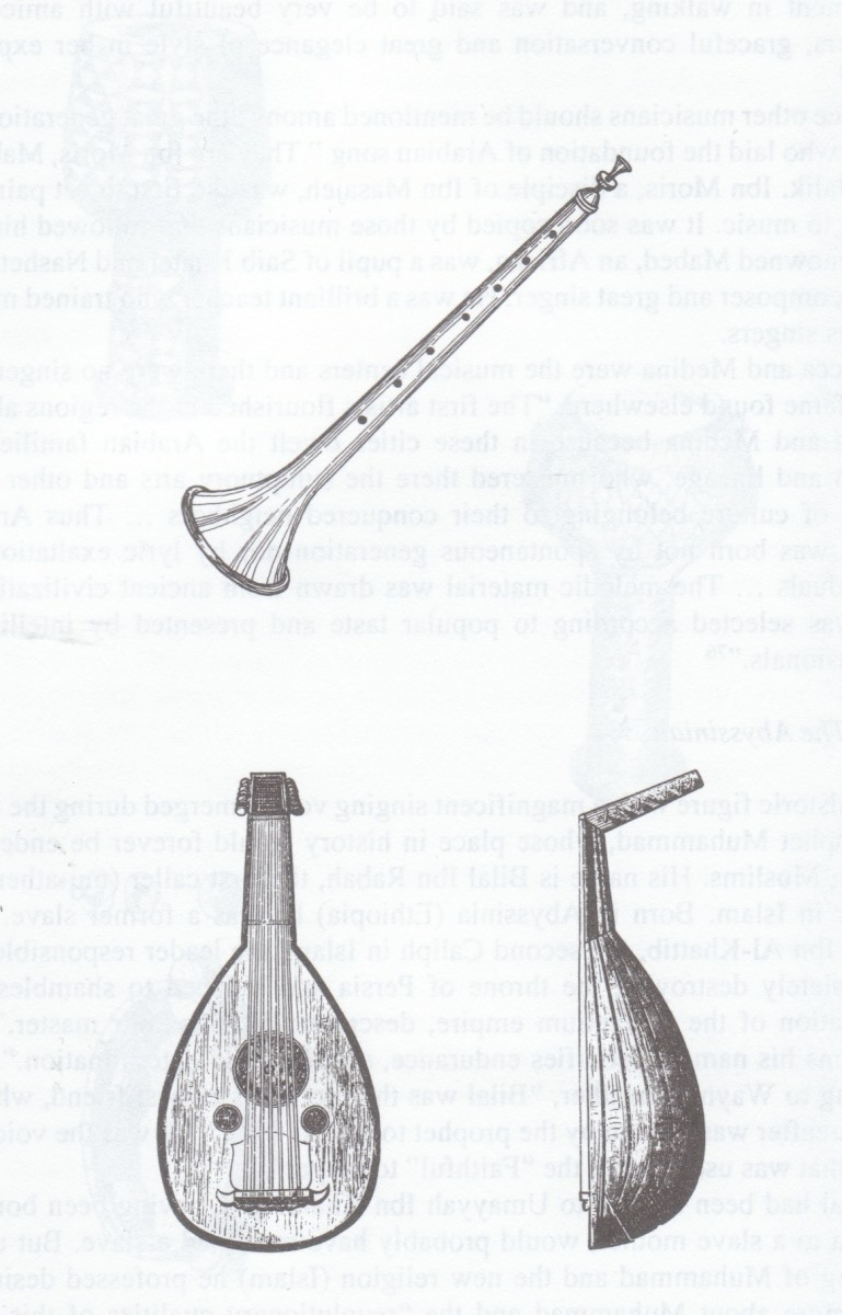 Zurna(Above) Al-Oud (Below)