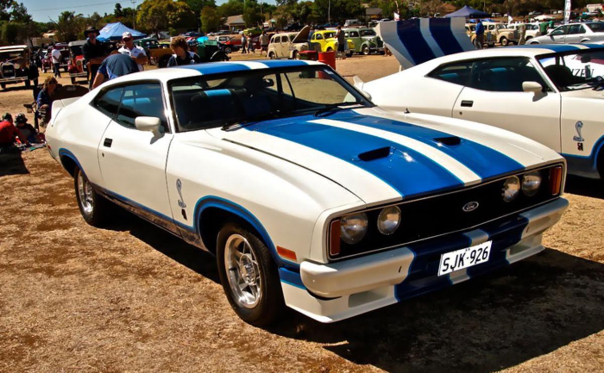 Ford Falcon XC Cobra  Image courtesy:Ferenghi http://www.carsaroundadelaide.com