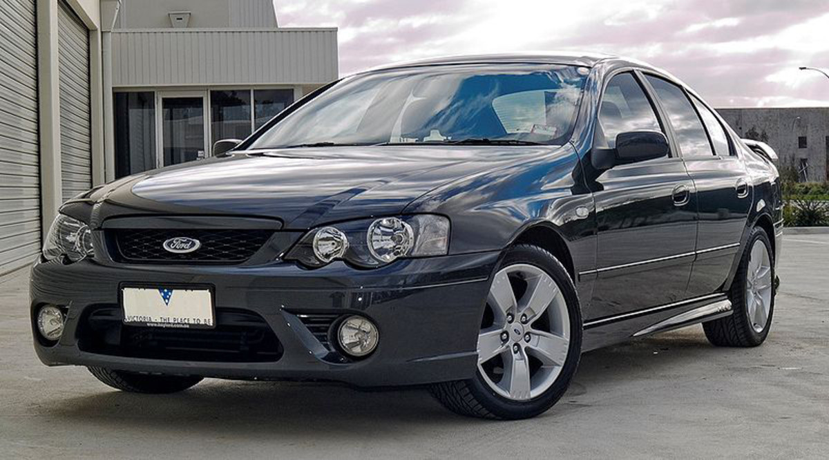 Ford BF Falcon XR6 sedan