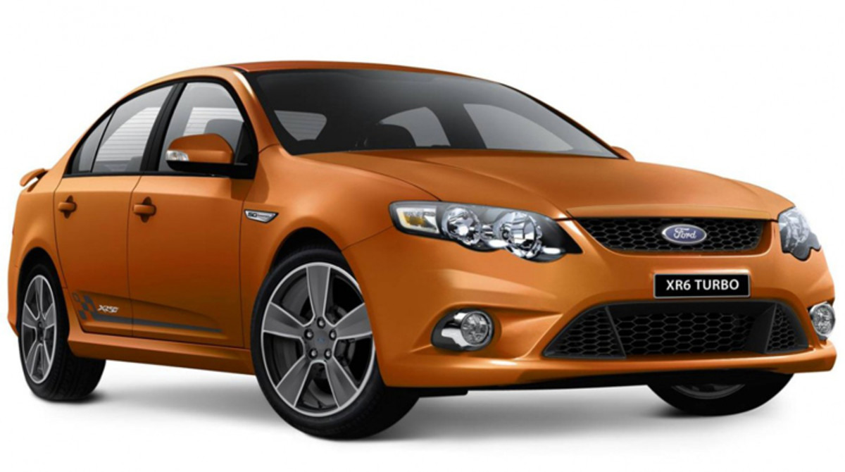Ford Falcon XR6 50th Anniversary Model produced in  Australia to celebrate Falcon's 50 years as a marque!