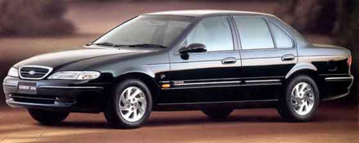A very classy looking Ford  EL Falcon Fairmont Ghia