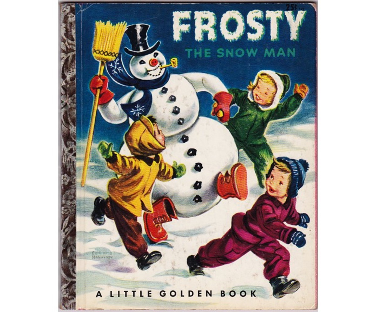 Frosty the Snowman is a classic Little Golden Book