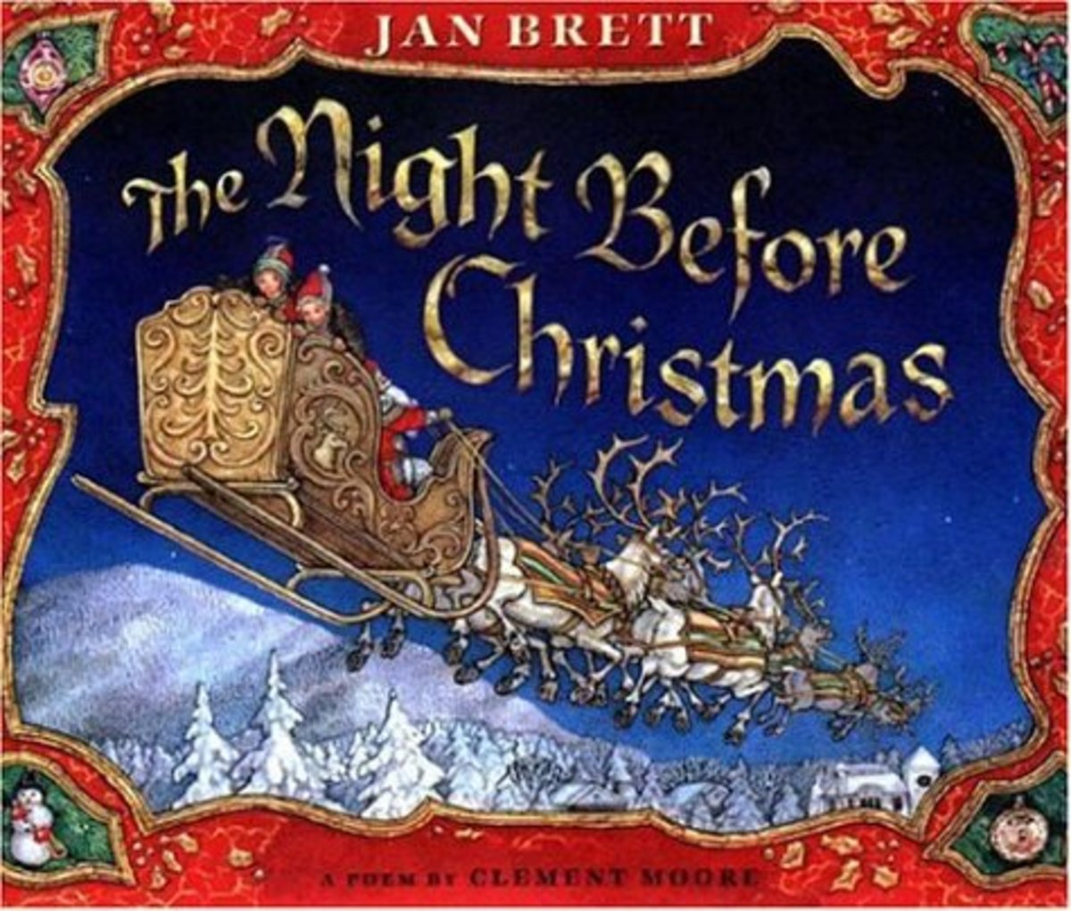 The Night Before Christmas illustrated by Jan Brett
