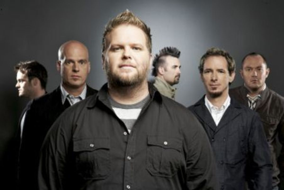 Bart Millard with MercyMe