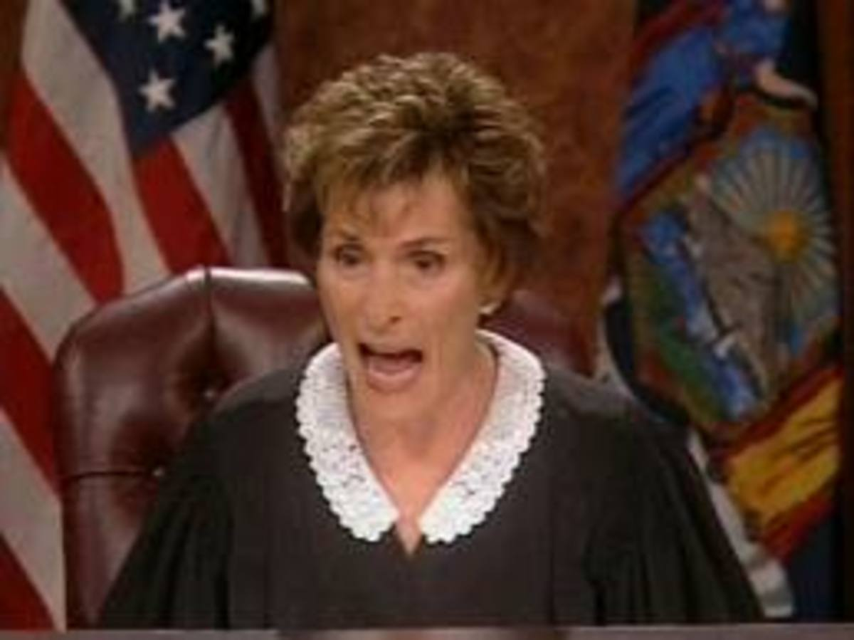 "Judge Judy. The ""Nemesis"" of alligators, and a lot else as well."