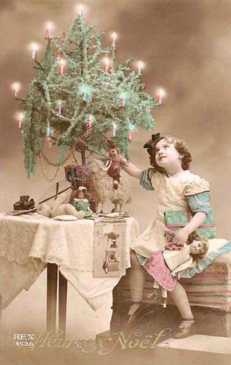 Vintage Handcrafted Christmas Decorations