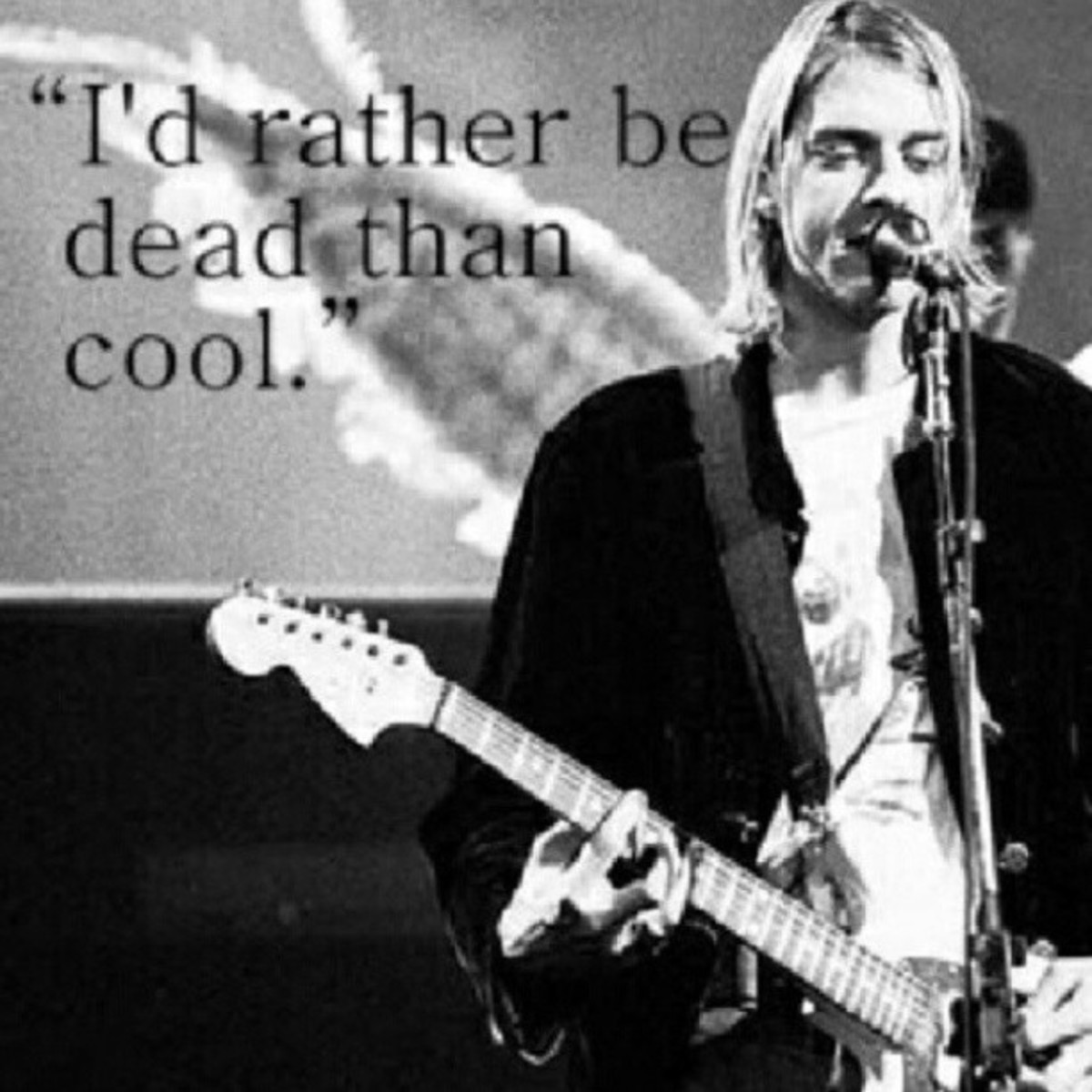 Haunting words by Kurt Cobain.