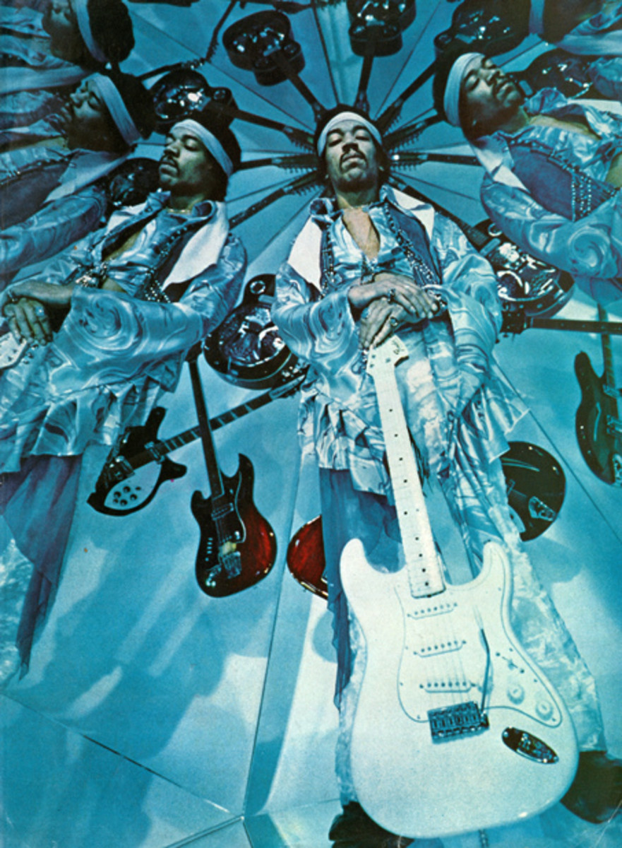 Jimi Hendrix is often regarded as one of the greatest guitarists who ever lived.