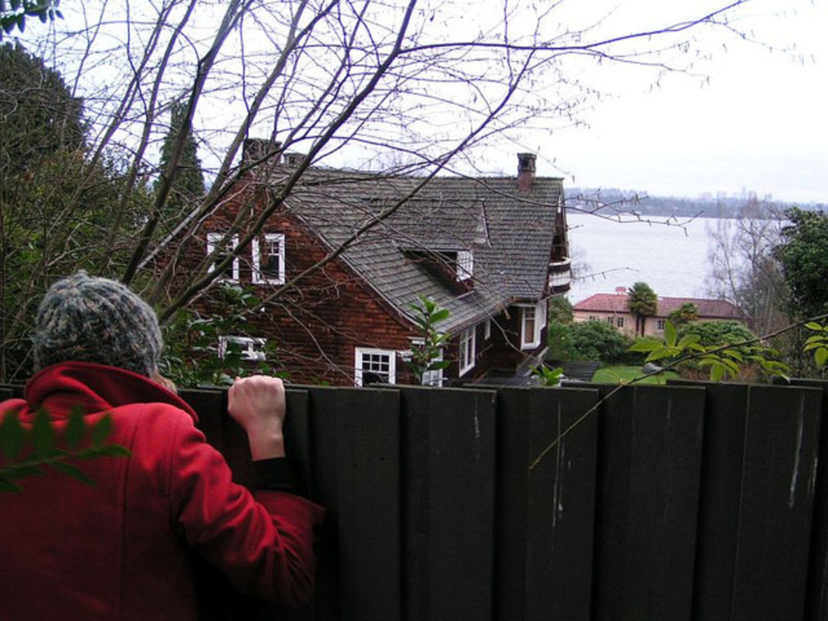 Kurt Cobain's home where he was found dead.