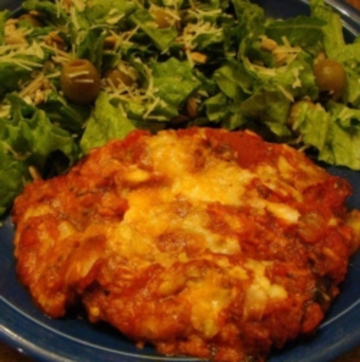 Delicious Low Carb Eggplant Parmesan Recipe