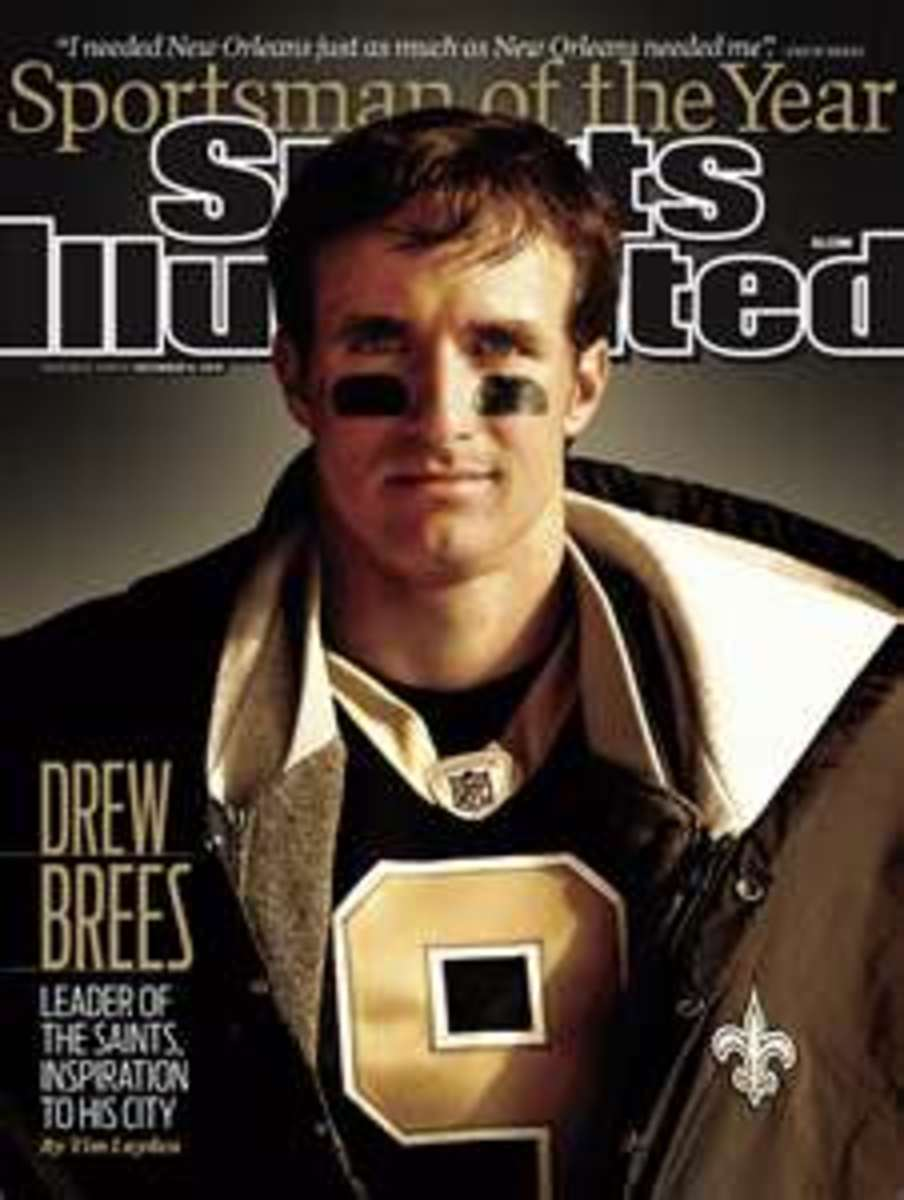 Drew is named  Sportsman of the Year by Sports Illustrated