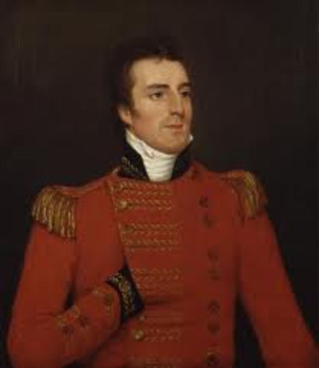 The Duke of Wellington posing like me