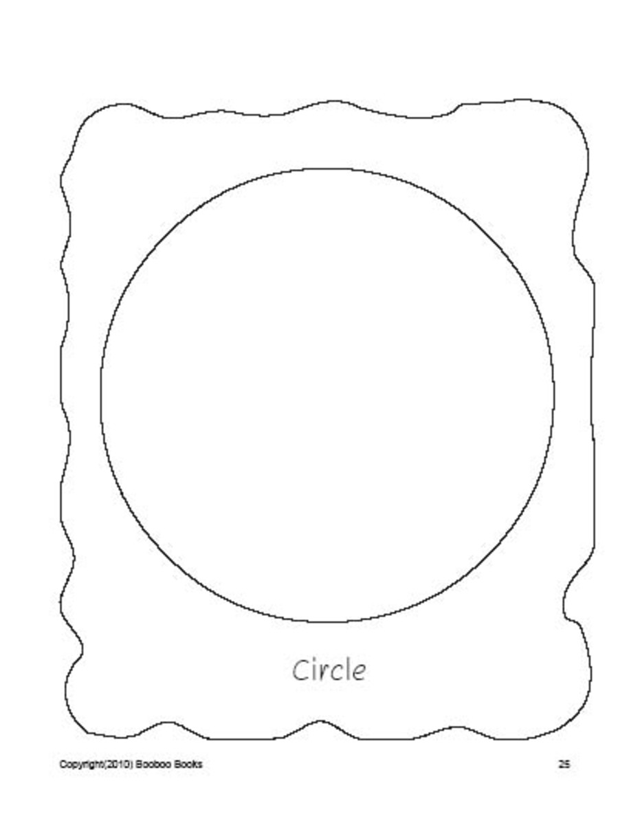 PreSchool worksheets - Circle