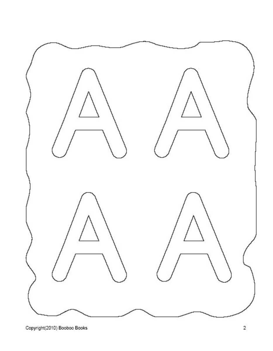 PreSchool worksheets - The Alphabet