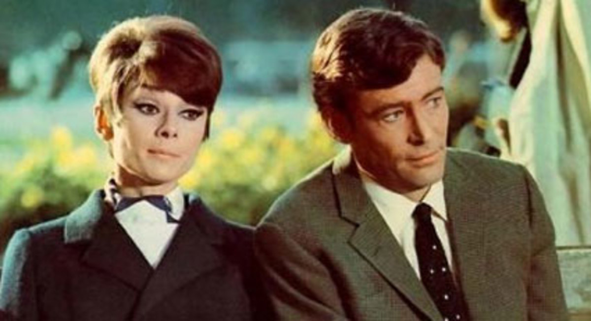 "With Peter O'Toole in ""How To Steal A Million"""