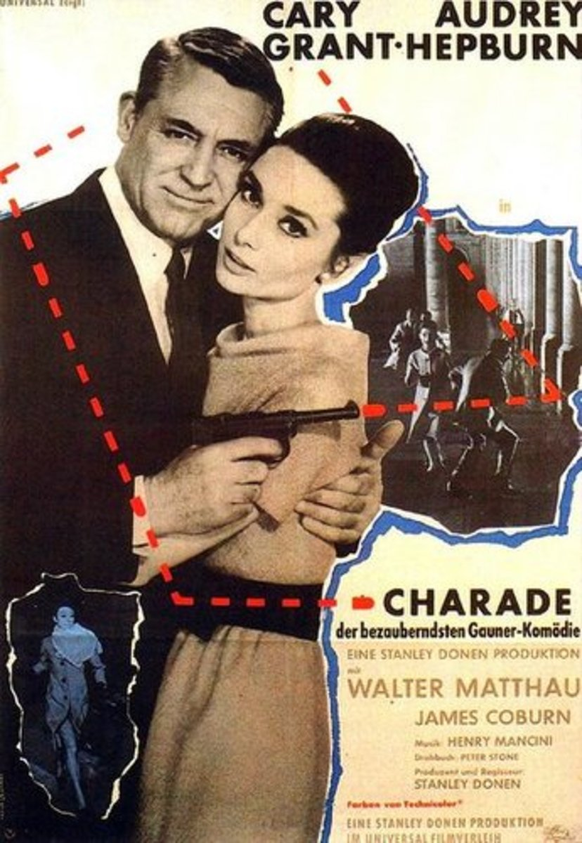 """The """"Charade"""" poster, 1966."""