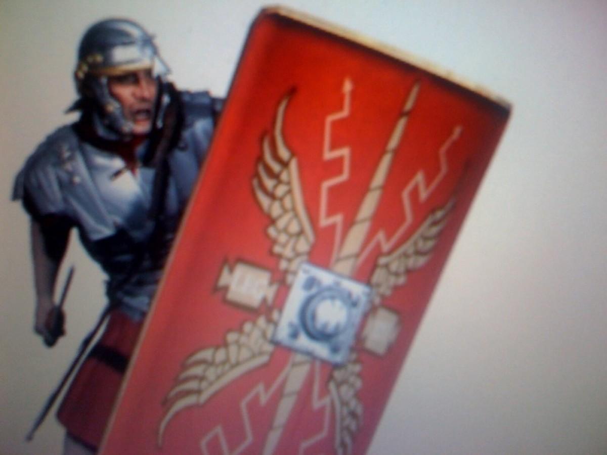 A Roman legionairre