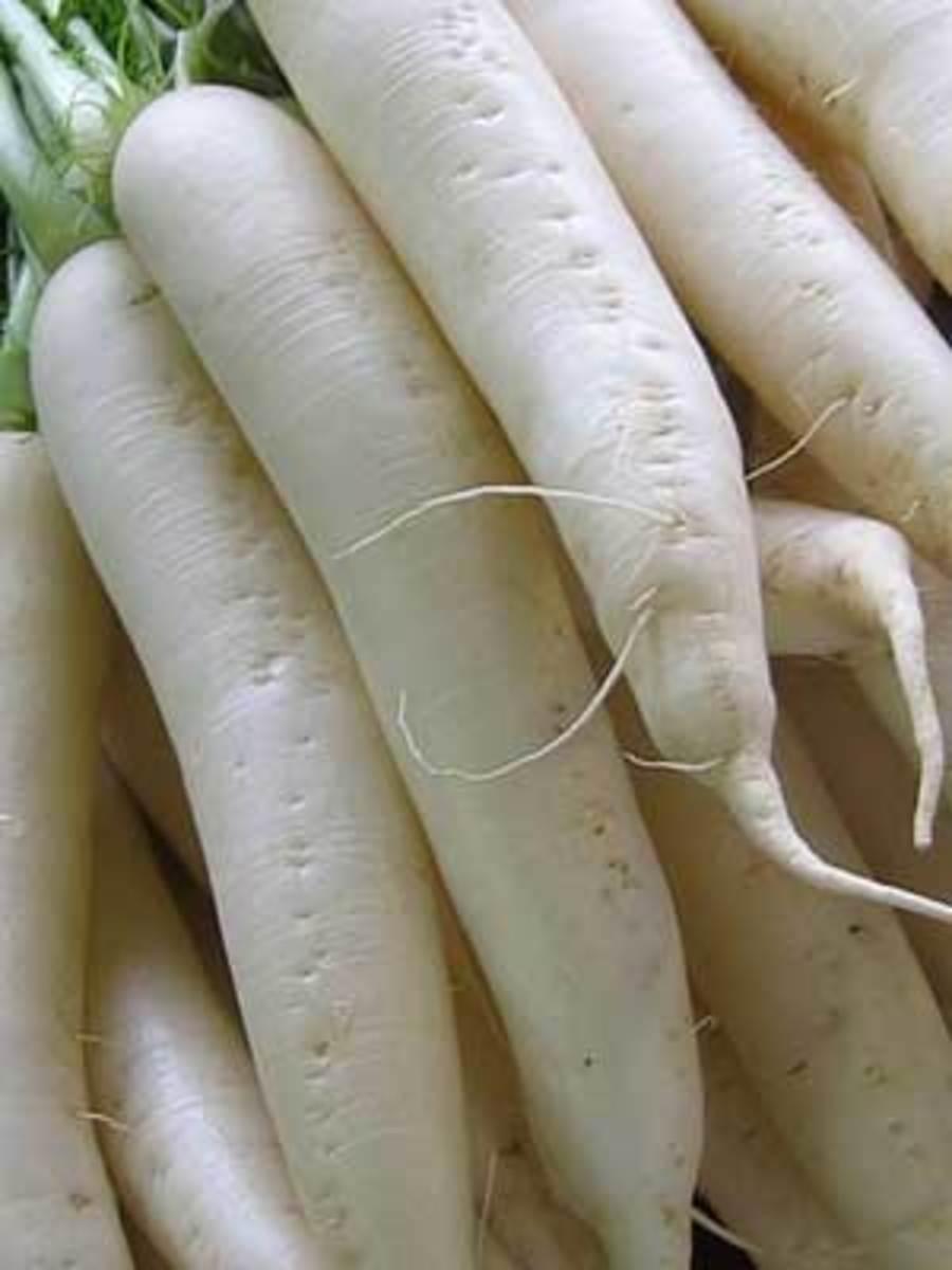 How to Cure Phlegm With White Radish ( Daikon )