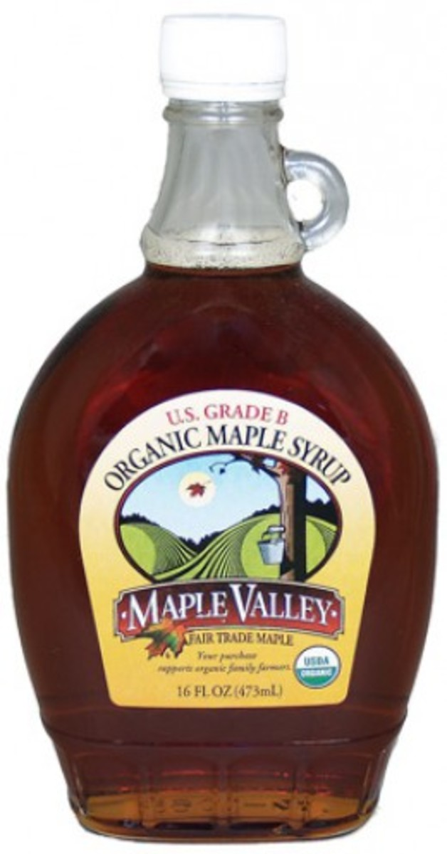 Grade B Organic Maple Syrup