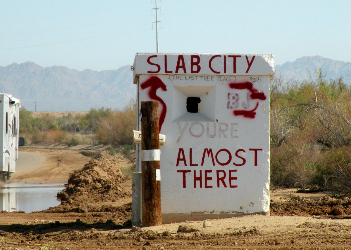 Slab City California:  The Last Free Place