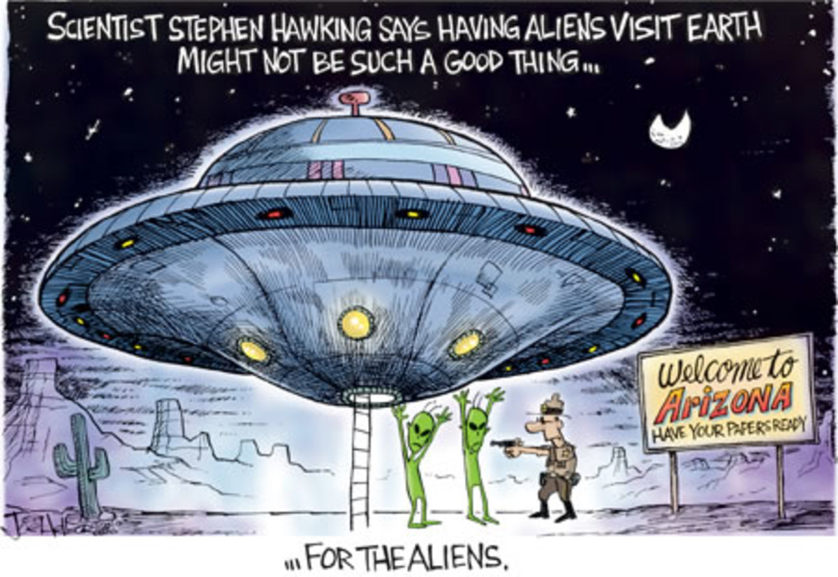 Stephen Hawking's warning to aliens