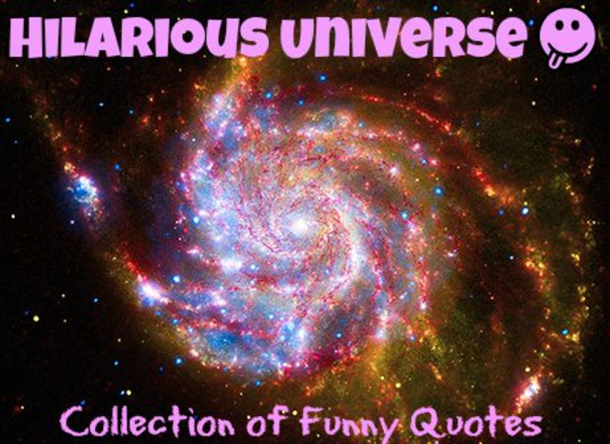 Hilarious Universe: Collection of Funny Quotes