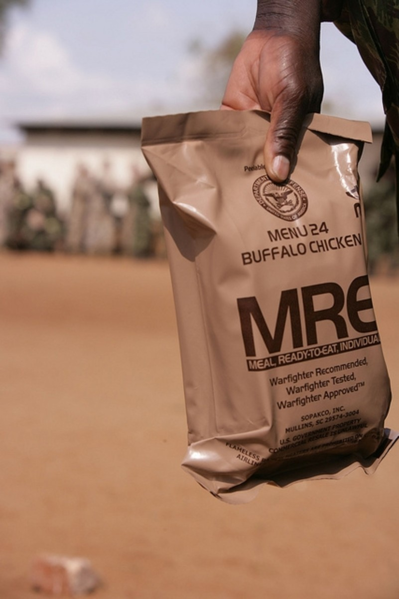 A military MRE in action