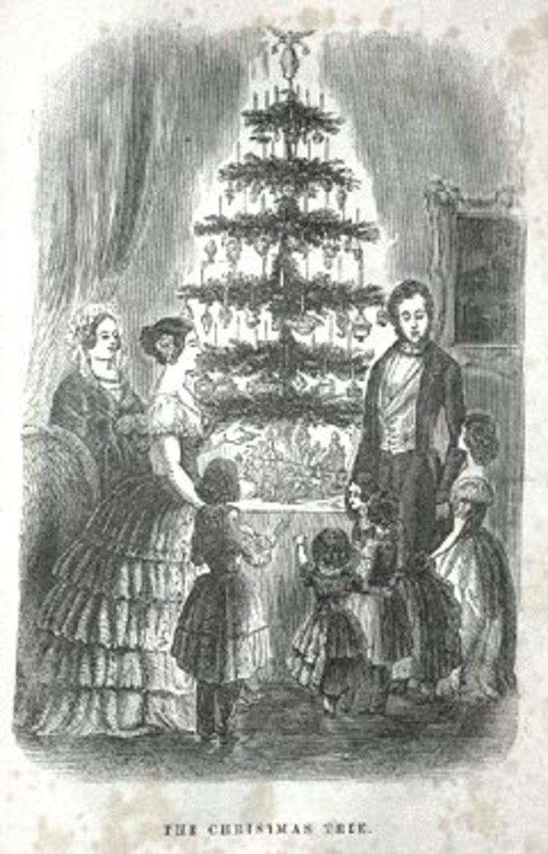 Queen Victoria & Prince Albert's Christmas Tree