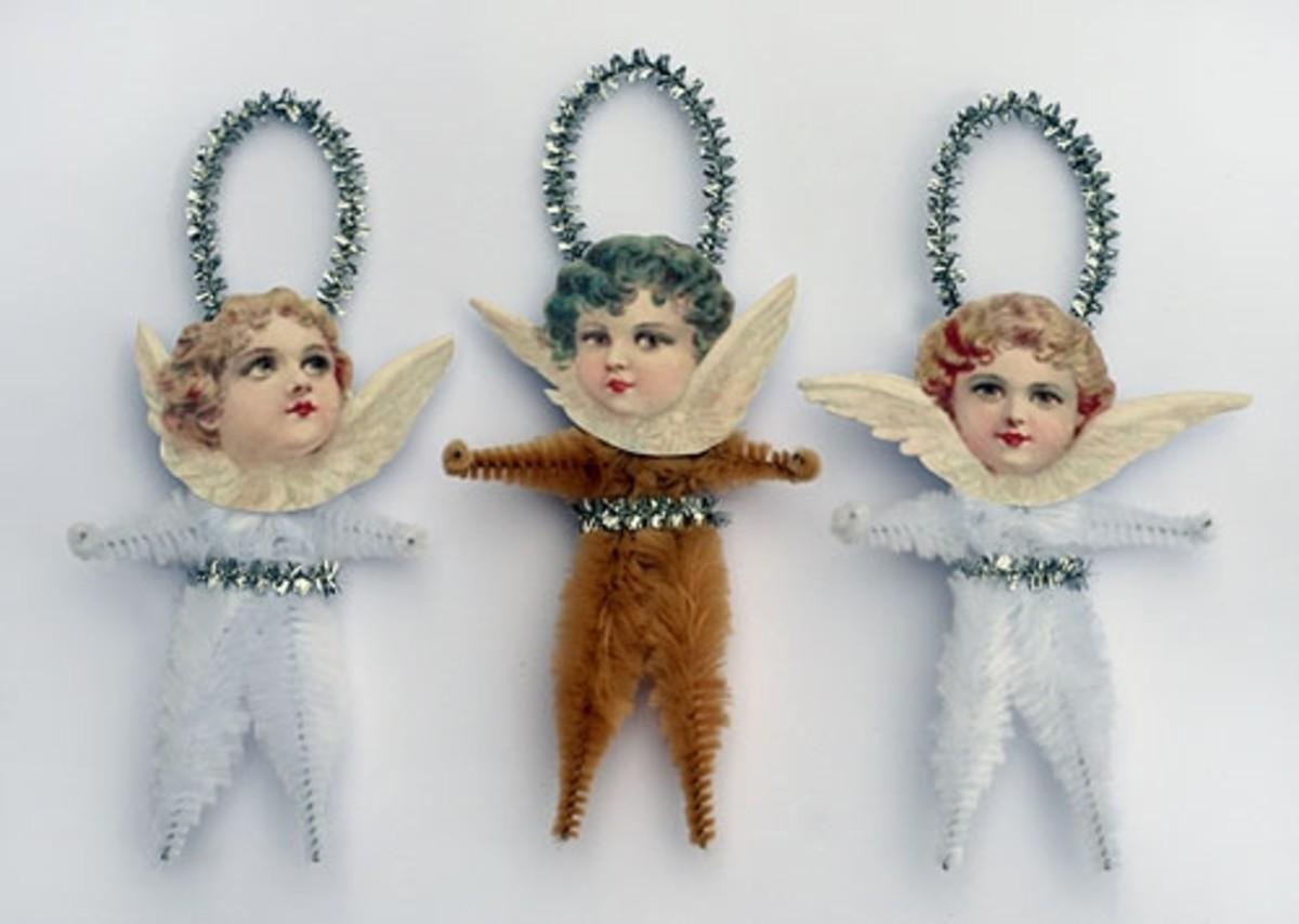 Victorian Paper Ornaments