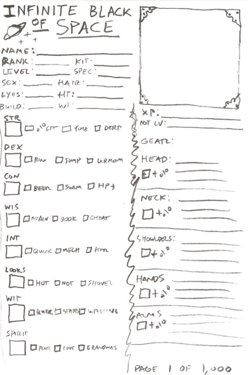 Example of a complex sheet