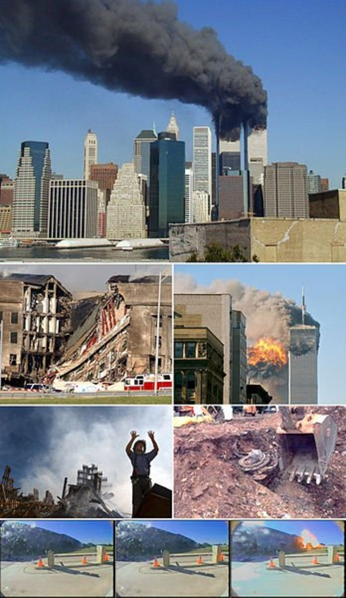Remembering Sept 11th 2001, The Pentagon and World Trade Center Attack (updated 9-11-2015-New Pictures)