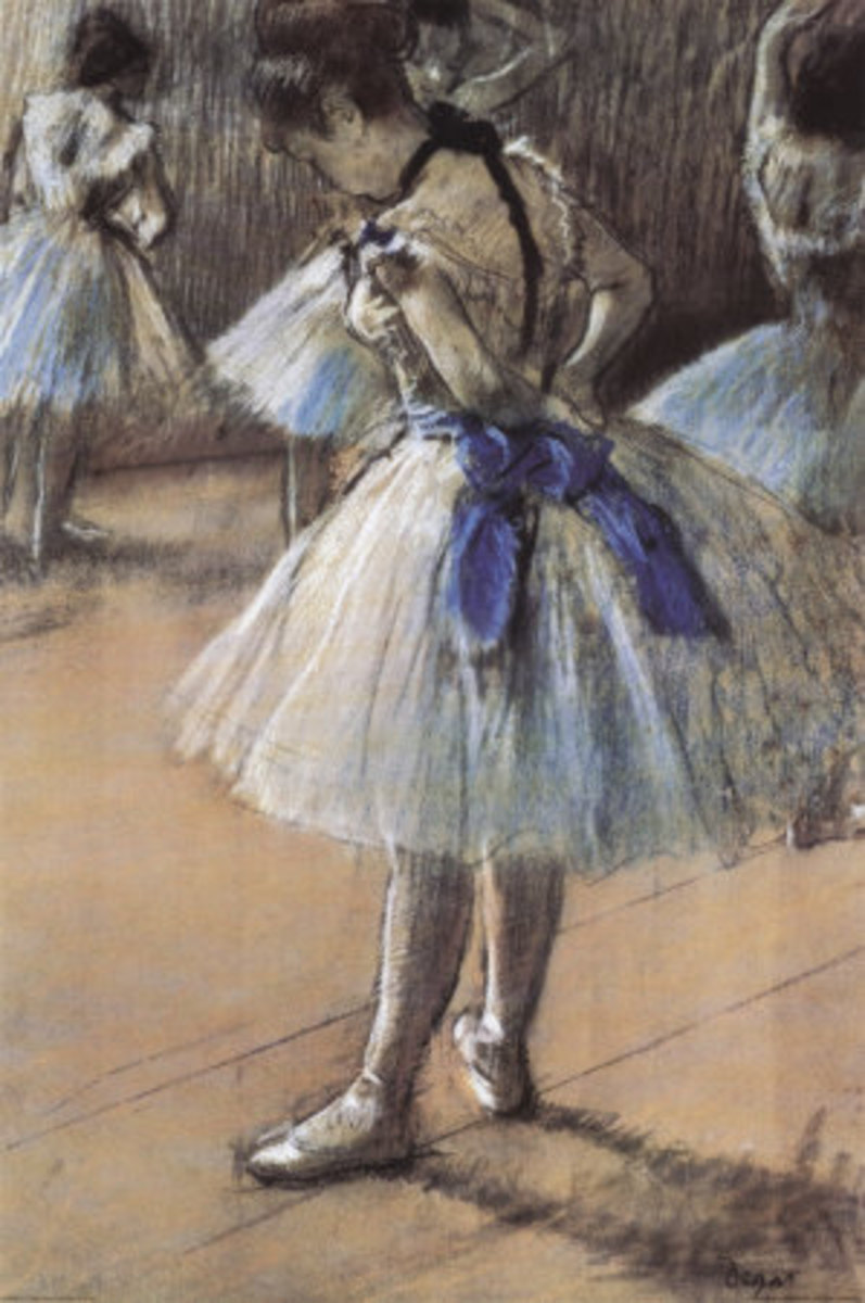 Ballerina by Edgar Degas--Photo credit: AllPosters.com