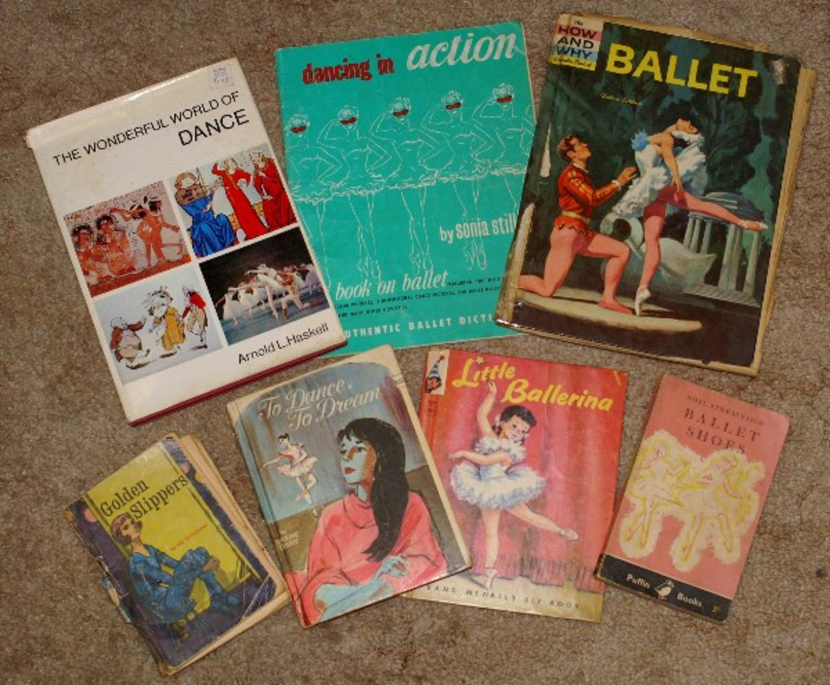 A Few of My Childhood Ballet Books.