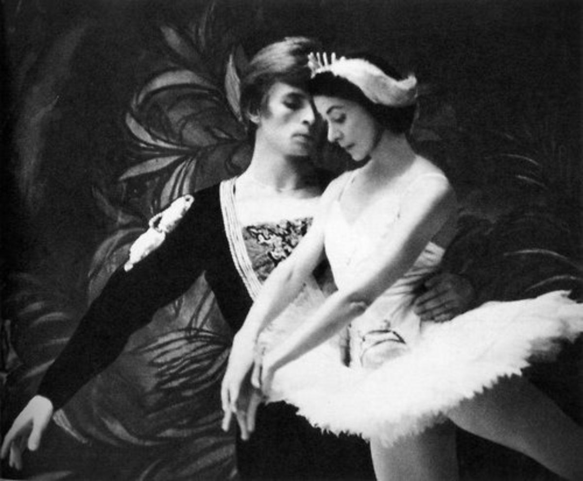Rudolph Nureyev and Margot Fonteyn in Swan Lake.