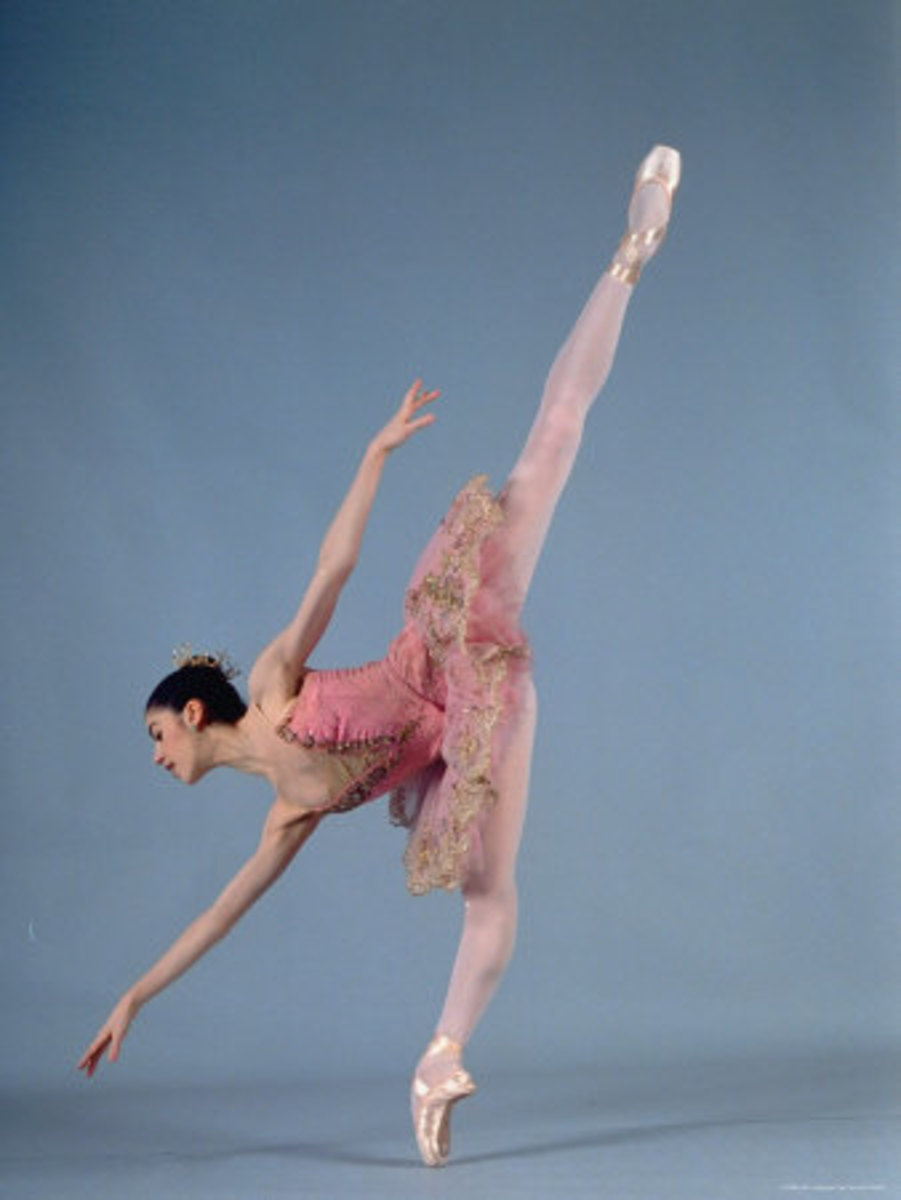 Paloma Herrera in Themes and Variations Ballet--Photo by Ted Thai--Photo credit: AllPosters.com