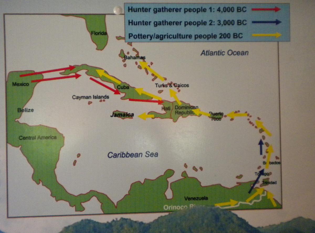 Caribbean early map